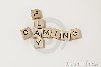 Wood cube play&gaming
