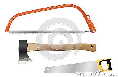 cutting wood tools