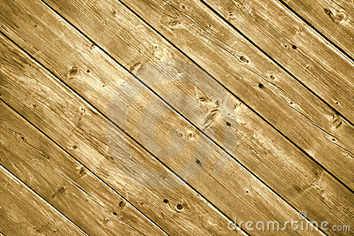 Wood decking planks.