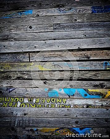 Wood dirty board