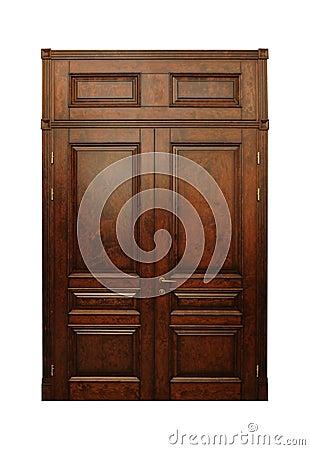 Free Wood Door Stock Photo - 19516480