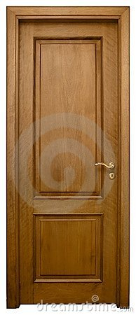 Free Wood Door 3 Stock Image - 718051