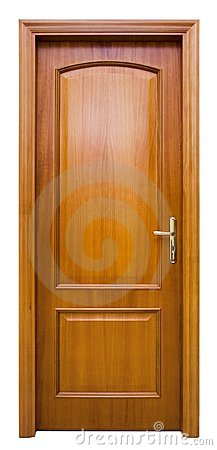 Free Wood Door Royalty Free Stock Photography - 596557