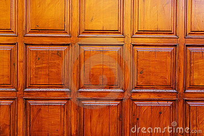 Wood door design