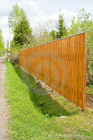 Free Wood Fence Royalty Free Stock Photos - 4745028