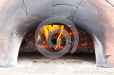 Wood fired oven