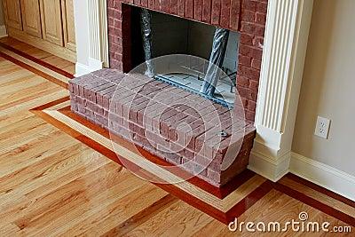 Wood Floor Inlay