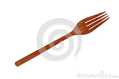 Wood fork