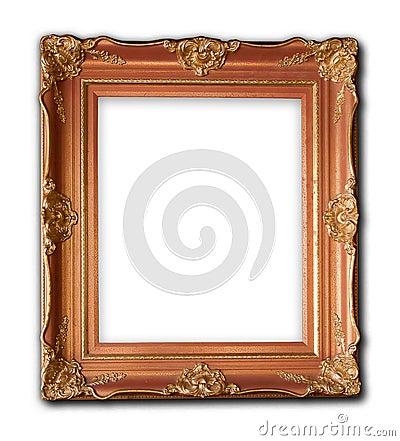 Wood frame carved Renaissance designs