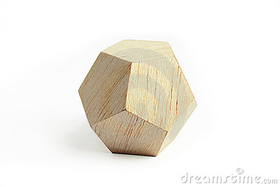 Wood geometric block