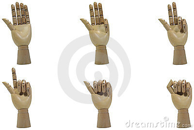 Wood Hand Countdown