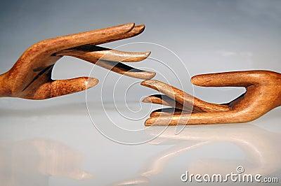 Wood hands 5
