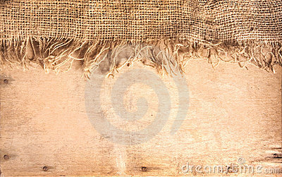 Wood and hemp textile
