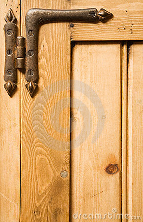 Wood and hinge background