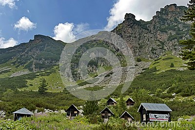 Wood-house (bungalow) by rest-house Maliovitza in Rila mountain