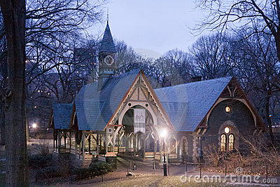 Wood House in Central Park New York City