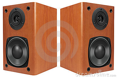 Wood Loud Speakers