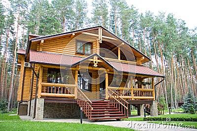 Wood mansion