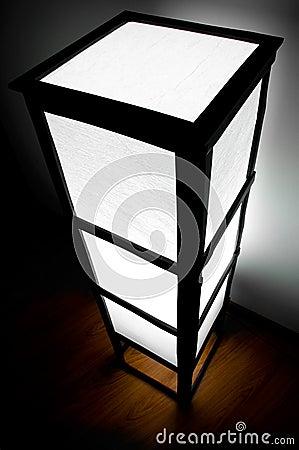 Wood modern lamp