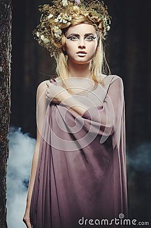 Free Wood Nymph Stock Image - 25948521