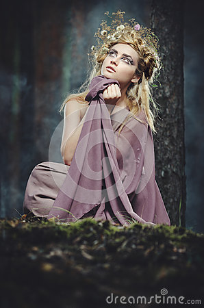 Free Wood Nymph Stock Images - 25948714