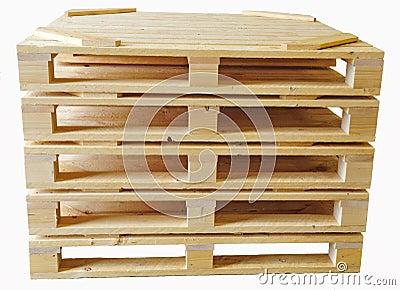Wood palls