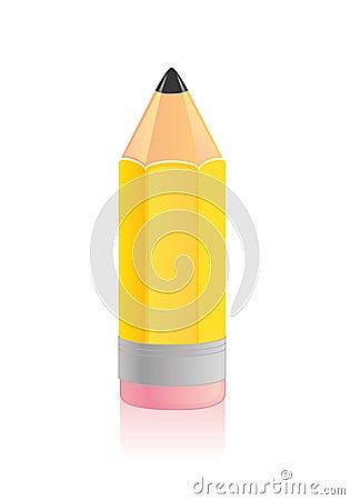 Wood pencil icon
