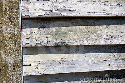 Wood plank lap siding