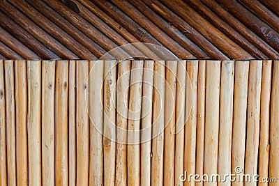 Wood post pattern