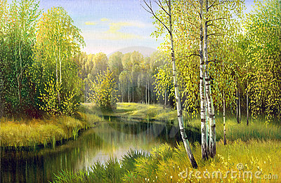 The wood river