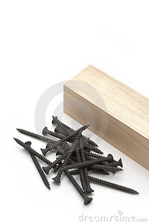 Free Wood Screws Stock Photo - 373190