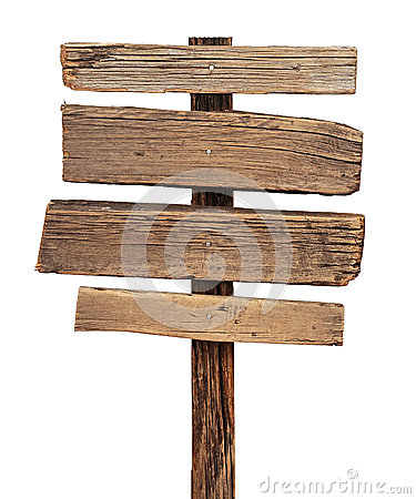 Free Wood Sign Royalty Free Stock Photography - 25680207