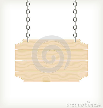 Free Wood Sign, Vector Royalty Free Stock Photography - 28326697