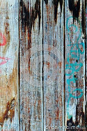 Wood Texture Background Stylish Aged Colors Stock Photo