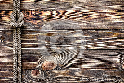 Wood texture with marine knot
