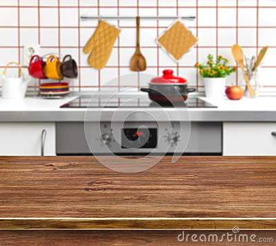 Free Wood Texture Table On Kitchen Bench Background Royalty Free Stock Photo - 49863165
