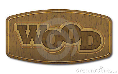 Wood - vector