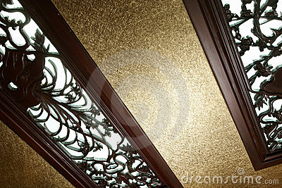 Woodcarving window