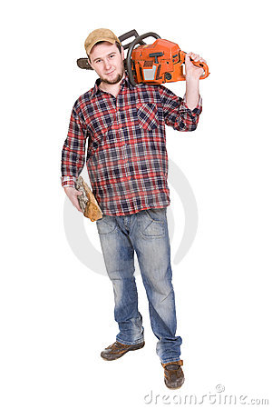 Woodcutter Stock Photo - Image: 9273360