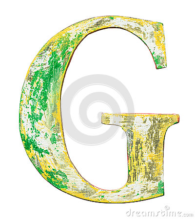 Free Wooden Alphabet Letter Stock Photography - 96260132