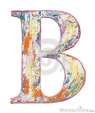 Free Wooden Alphabet Letter Royalty Free Stock Photos - 96260358