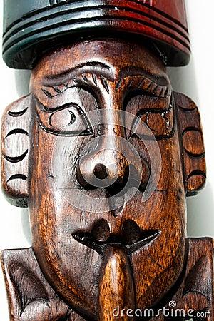 Wooden art object