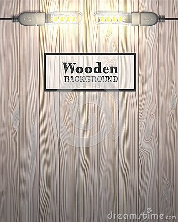Free Wooden Background With USB LED Lamps Royalty Free Stock Photo - 109693605