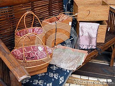 Wooden bags