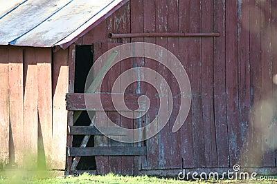 Wooden barn details