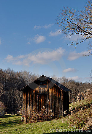 Free Wooden Barn In Ohio Royalty Free Stock Photography - 17613007