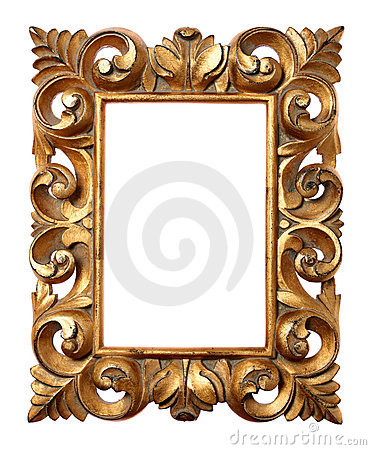 Wooden Baroque Frame