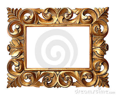 Wooden Baroque Style Frame