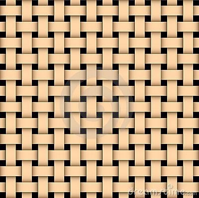 Free Wooden Basked Weave Stock Images - 4803184