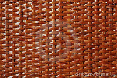 Wooden basket lacquered texture